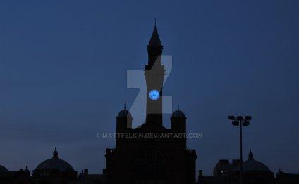 Birmingham university clock