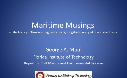 Maritime Musings on the