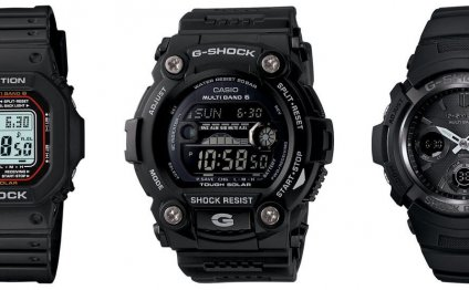 Solar G-Shock Watches