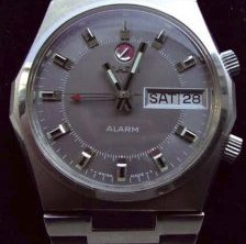 Automatic Alarm with rare grey dial, Photo: Philip, Suttgart, Germany