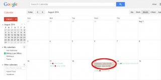 google-calendar-all-day-event-out-of-pocket-expense