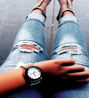 Guess Watch, Ladies Watches, Zenobe Fredericks, White, Blue, Gold, Fashion Blog, South Africa