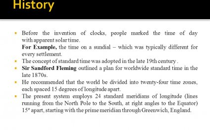 The Invention Of Clocks