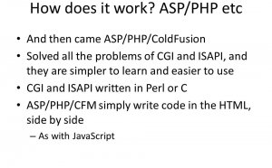 How does PHP work?