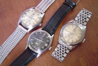 Three Rado Green Horse Daymasters of Ref. 11706