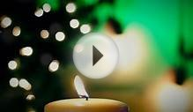 5 Minute Countdown - Christmas Candle