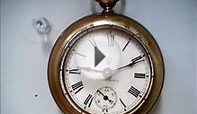 Antique Waterbury Clock Pocket Watch 1892/3/4? precursor