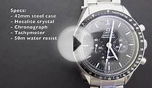 "Minute Watch Review: Omega Speedmaster 3570.50 ""Moonwatch"""