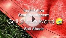 Shaded Nation: Install Your Sail Shade - DIY Fitting Guide