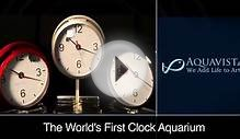 Smarthome - Aquavista Wall Fish Clock, Black
